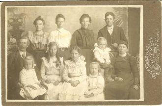 Amos Moses Virgin Family Portrait