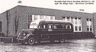 1939, Rosedale School, McClain Co.,OK