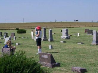 Nellie Steeples Abbott  Headstone Palco KS