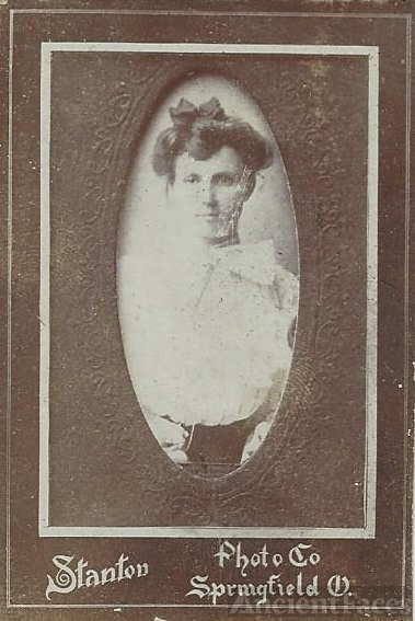 Helm unknown young lady