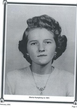 Gloria Mae Humphrey