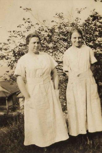 Mrs. Hewitt and Ellen