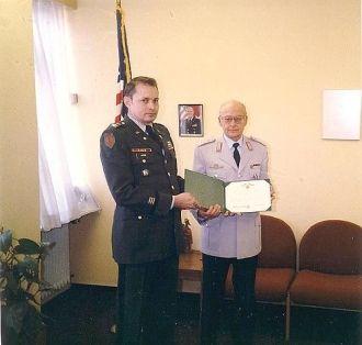 Hans J. Krug, Receiving Medal