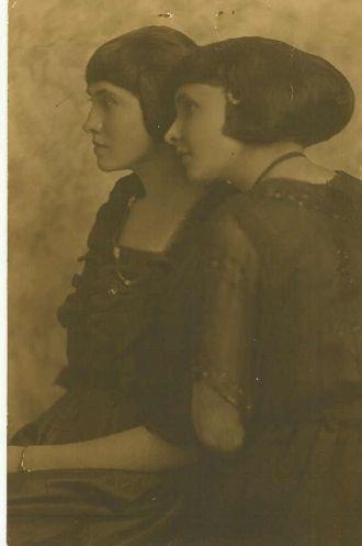 Nancy Ellen or Nancy Anna & Mary Bishop, Sisters