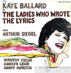 Dorothy Fields fan Kaye Ballard