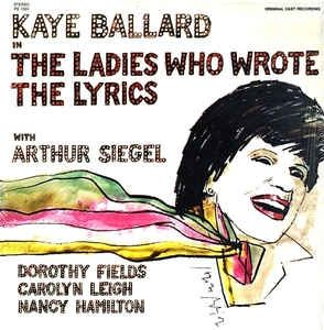 Dorothy Fields fan Kaye Ballard