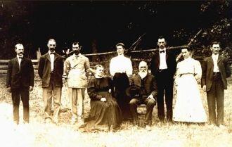 John W.  & Rebecca Sweetwood  family, PA