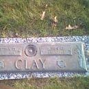 John G. and Bertha D. Clay Gravesite
