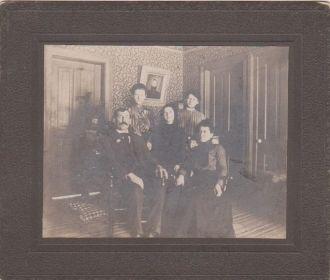 Ira Coleson Family, Michigan 1905