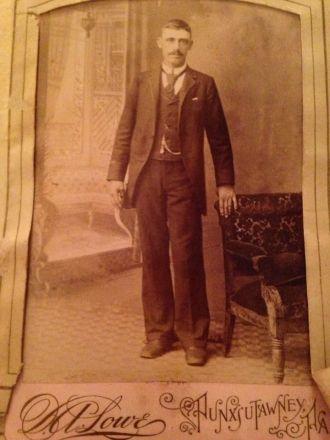 Unknown Mason Man
