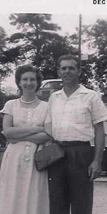 Bonnie Russell Denton and George Denton