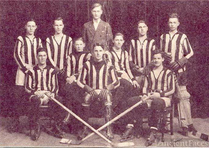 High School Hockey Team