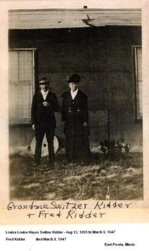Fred & Louisa Switzer Kidder