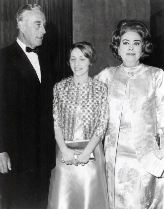 Joan Crawford, Lord Mountbatten, Amanda Stevenson