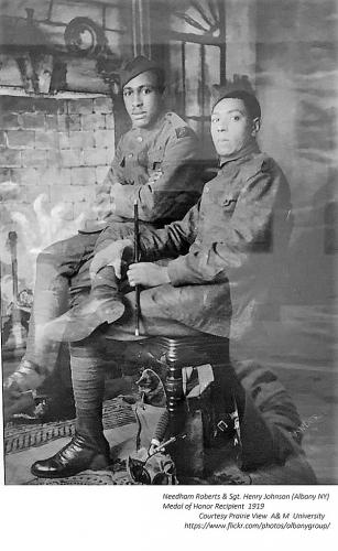 Needham Roberts and Henry Johnson