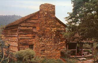 Walker Sisters' Log Cabin, Smoky Mountains, Tennessee