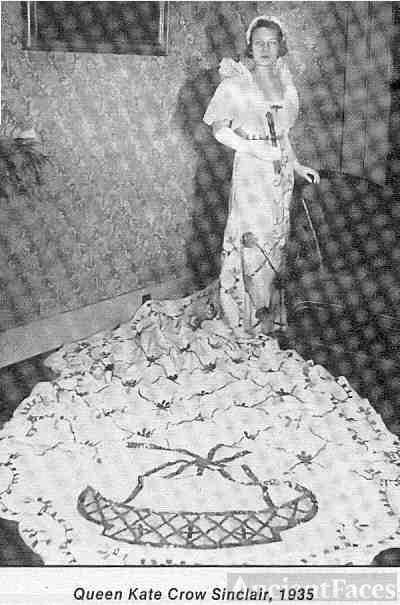 Mary Kate CROW, Queen of Mardi Gras, Galveston, TX