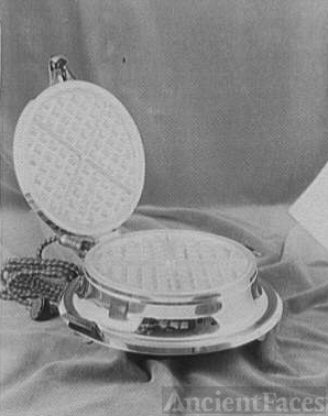 Potomac Electric Power Co. electric appliances. Waffle iron