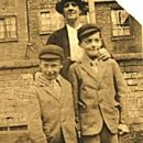 Grandma Smith with Ernest Smith and George Smith