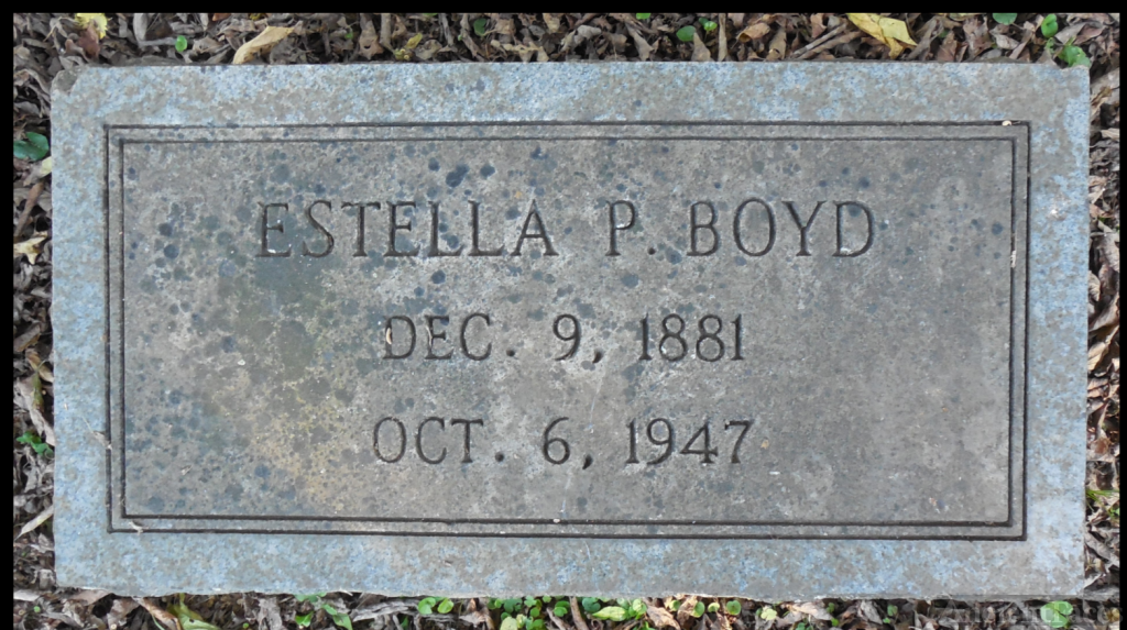 Estella Boyd Gravesite