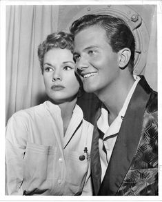Gale with Pat Boone.