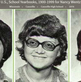 Nancy Lee Wentz-Udelhofen-Fuls--U.S., School Yearbooks, 1900-1999(1956)