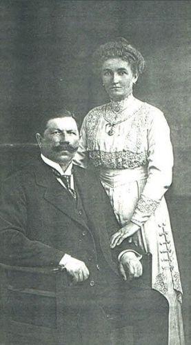 Rudolf and Anna Klatte Heidke, Germany 1900