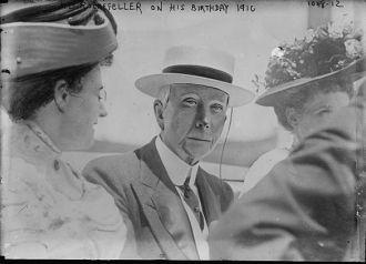 J.D. Rockefeller with J.D. Rockefeller with others on his birthdayothers on his birthday