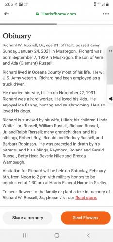 Richard William Russell (Dad)