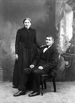 Margaretha (Kirscht) & Peter Barthel, 1890