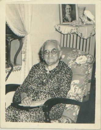 Granny Burnett on her 100th Birthday