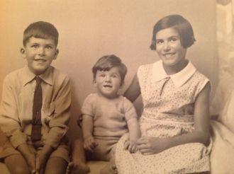 Ernest, Elizabeth, & Brian Carr