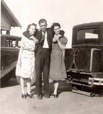 1930's Picture of my Mom with her Aunt and Uncle