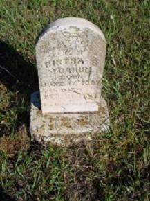 YOAKUM GRAVESITE: Bertha B. Yoakum