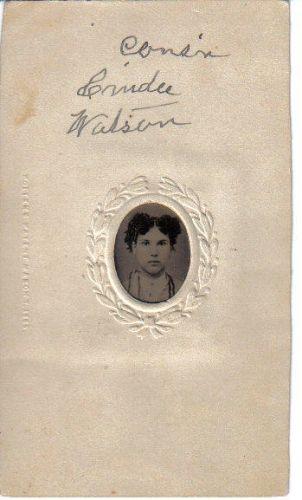 Cousin Cindee Watson
