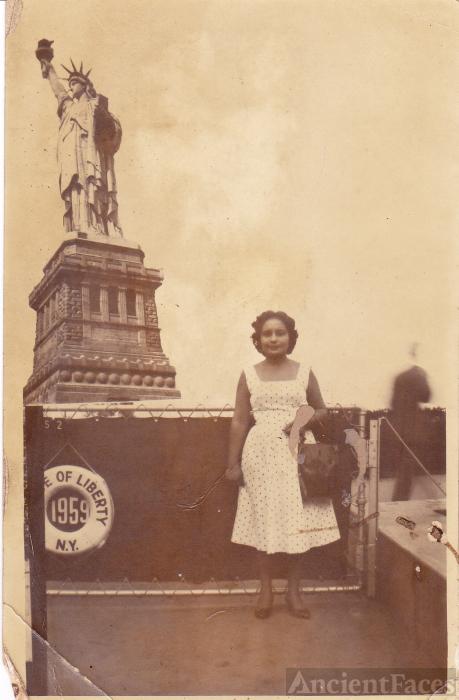 Genoveva Padilla, New York 1959