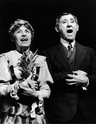 Jack Gilford and Lotte Lenya