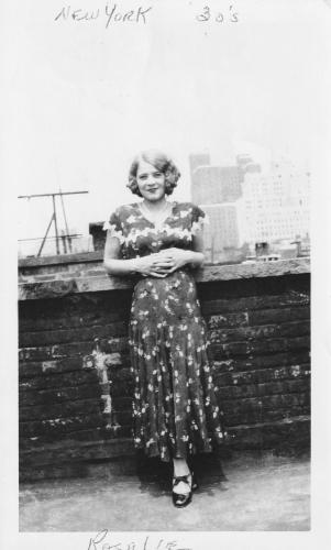 Rosalie Cotich Hughes, 1930s