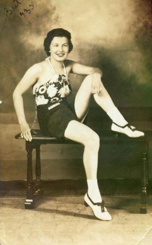 A photo of Bertha (Foldhazi) Manos