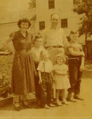 Wilburn and Violet lay and Their Children