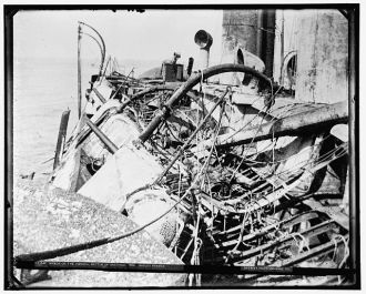 Wreck of the Vizcaya, Battle of Santiago, gallus frames,...