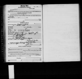 Wedding Registration for Herald Baker & Hestle Kidd