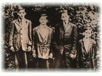Grandsons of Montgomery and Anna Adkins Howard