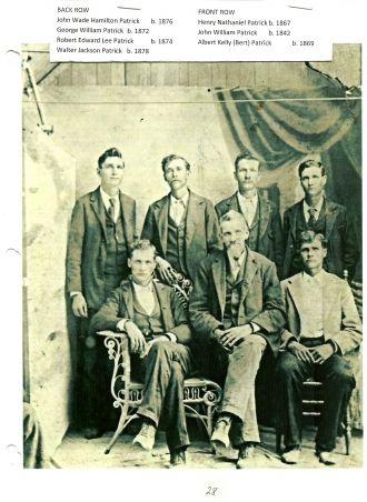 John William Patrick and sons