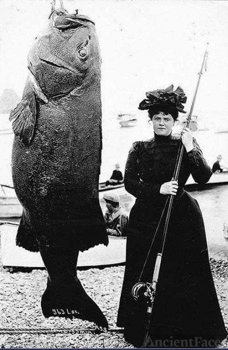 Fishing in 1901