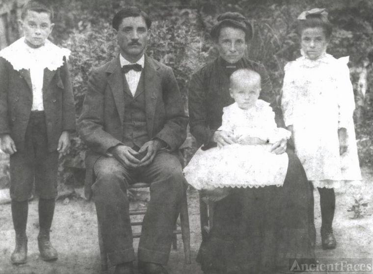 John Pleasant Clendenen Family
