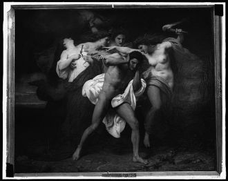 [Orestes pursued by the Furies, 1862]