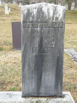 Joseph Warren gravesite
