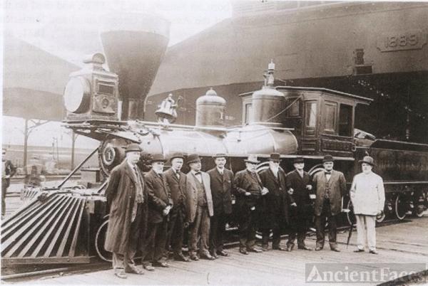 Colonel William Crooks and Locomotive