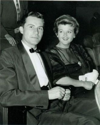 Peter P Shaw and wife Angela Lansbury